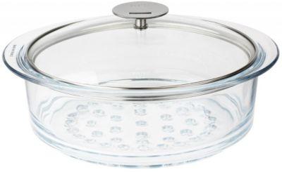 Cristel Cuiseur vapeur CRISTEL verre 20 cm avec