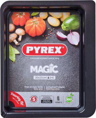 Pyrex Plat à four PYREX rect métal 30x23 cm Ma