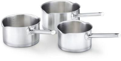 Kitchen Fun SET KITCHEN FUN 3 casseroles inox mambo1