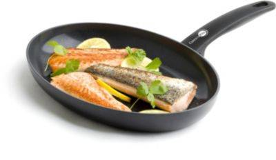 Greenpan Poêle GREENPAN à poisson ovale Cambridge