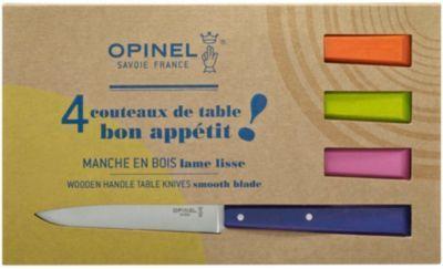 Opinel Coffret OPINEL Bon appétit Pop 4 couteau