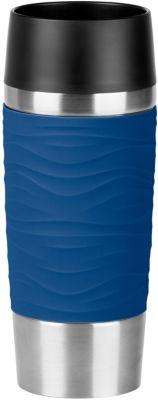 Emsa mug EMSA de voyage WAVES isotherme bleu