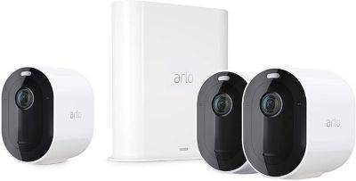 Arlo Caméra ARLO Pro 3 Kit 3 cam VMS4340P