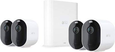 Arlo Caméra ARLO Pro 3 Kit 4 cam VMS4440P