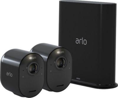 Arlo Caméra ARLO Ultra 4K Black Kit de 2 cam