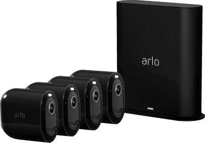 Arlo Caméra ARLO Pro 3 Black Kit de 4 cam VMS