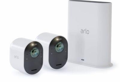 Arlo Caméra ARLO Ultra 4K sans fil Kit de 2 c