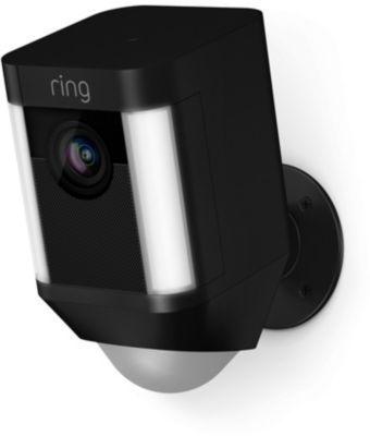 Ring Caméra RING Spotlight Cam Battery - Noir