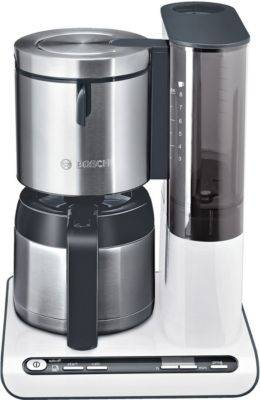 Bosch Caf-Progr BOSCH TKA8651 blanc / inox