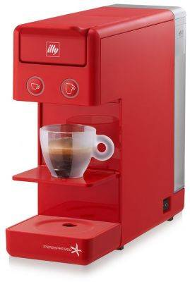 Illy Machine ILLY Y3.2 Rouge Expresso & Coffe