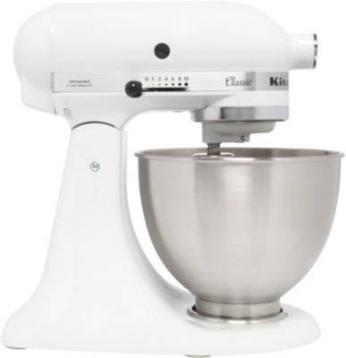 Kitchenaid Robot KITCHENAID 5K45SS EWH Blanc CLASSI