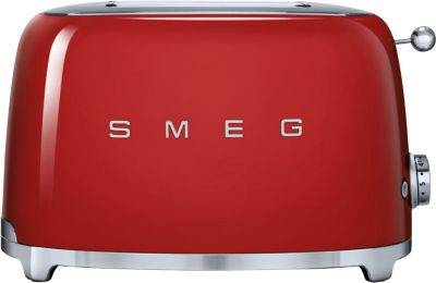 Smeg G-Pain double SMEG TSF01RDEU Rouge