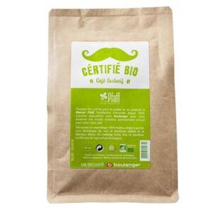 Pfaff Paquet café PFAFF grains Certifié Bio 25 - Publicité