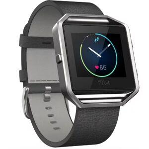 Fitbit Accessoire FITBIT CUIR BLAZE NOIR L - Publicité