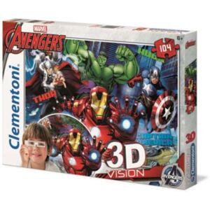 Clementoni Jeu CLEMENTONI The Avengers - 3D VISION - Publicité