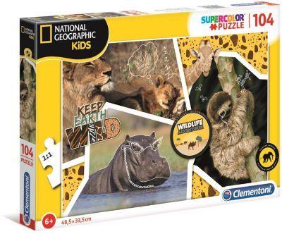 Clementoni Jeu CLEMENTONI National Geographic Kids