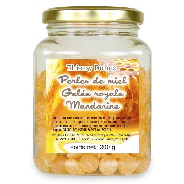 Thierry Duhec Perles de miel à la Gelée Royale