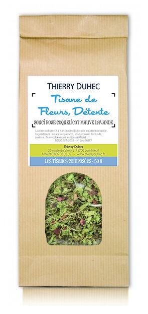 Thierry Duhec Tisane Détente - Tisane De Fleurs 30g