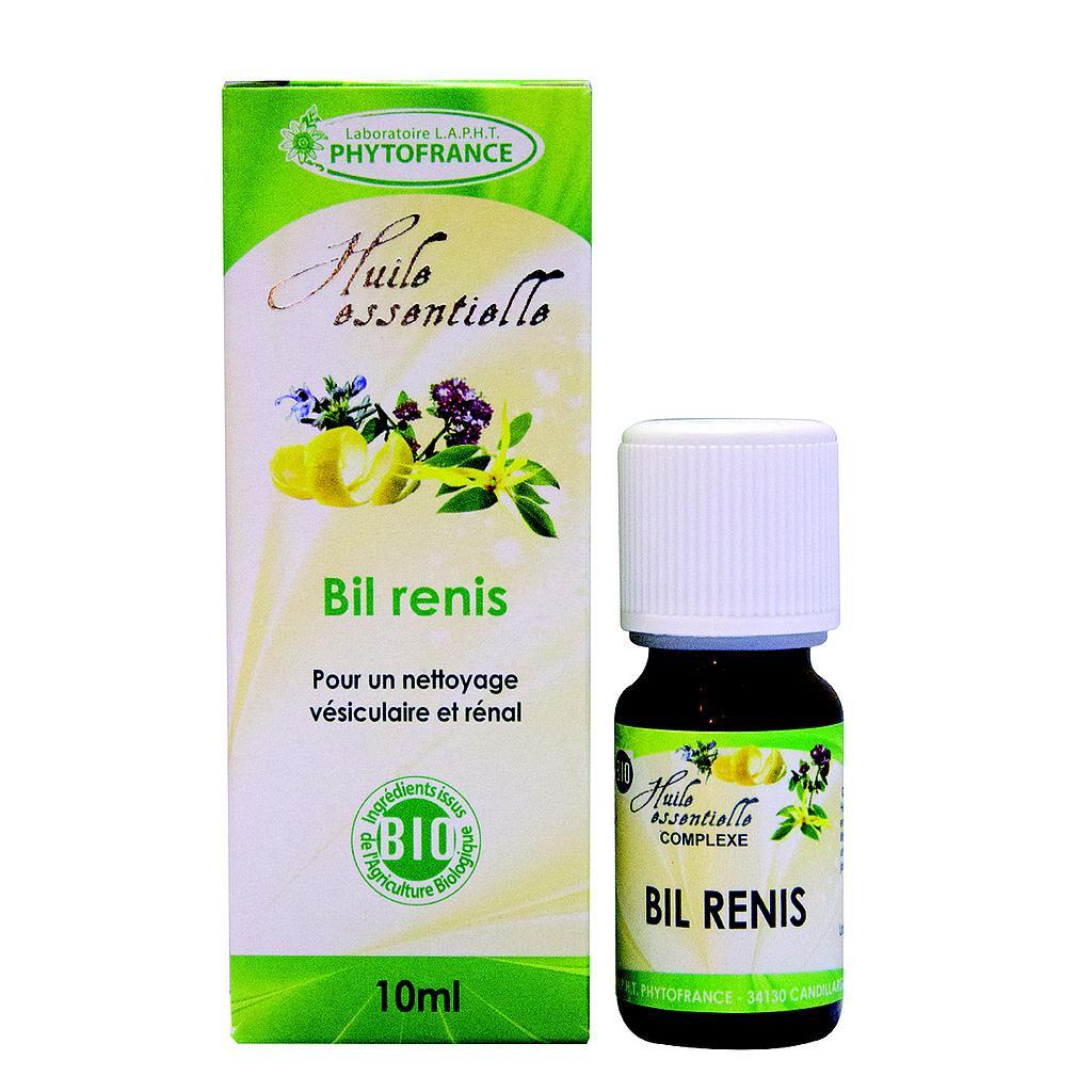 Phytofrance Bil renis - Complexe d'huiles essentielles BIO
