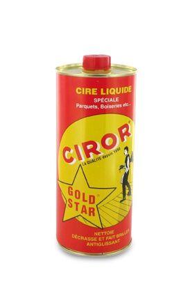 CIROR Cire  Parquets Liquide Gold Star CIROR