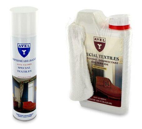 AVEL Lot Entretien Protection Textile AVEL