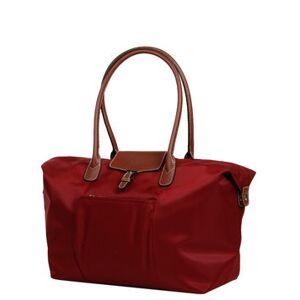 Hexagona Sac de voyage cabine femme Hexagona Cabas Long 55 cm Rouge - Publicité