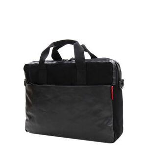 Reisenthel Sac ordinateur Reisenthel Workbag Canvas 15 pouces Black noir - Publicité