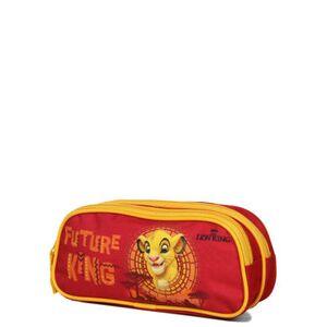 Disney Trousse Le Roi Lion King - 2 compartiments Rouge - Publicité