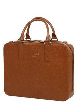 Laurige Sac ordinateur en cuir Laurige High-Tech 13 pouces Gold marron