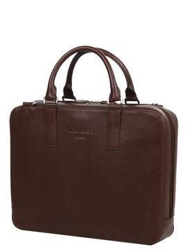 Laurige Sac ordinateur en cuir Laurige High-Tech 13 pouces Marron