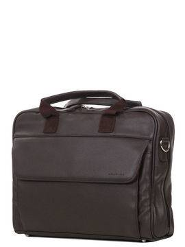 Laurige Sac ordinateur Laurige Manhattan 14 pouces Chocolat marron