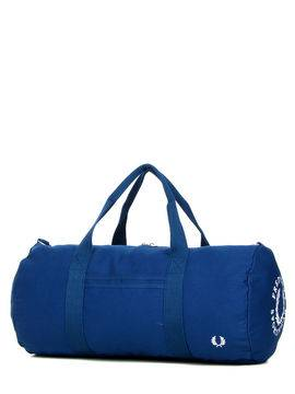 Fred Perry Sac de voyage cabine Fred Perry Branded Duffle Bag 52 cm Mid Blue bleu Solde
