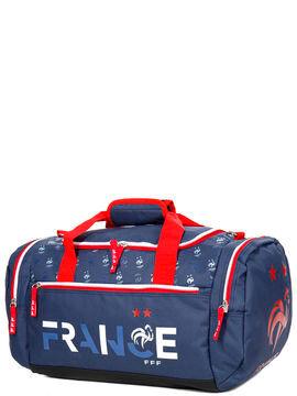 Football Sac de voyage cabine FFF 2 Etoiles 50 cm Bleu