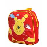 Disney Sac à dos Winnie l'Ourson Soleil pour maternelle Rouge