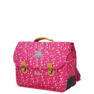 Poids Plume Cartable Poids Plume Liberty 38 cm Liberty Framboise rose
