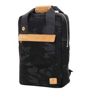 Faguo Sac à dos Faguo Urban Bag Wool Camo Kaki Bleu