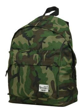 New Rebels Sac à dos pas cher New Rebels Basic - M Army vert Solde