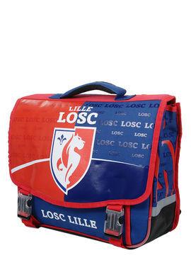 Football Cartable LOSC Lille Bleu 41 cm CE2/Collège Solde