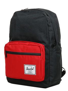 Herschel Sac à dos étanche Herschel Pop Quiz Black/Scarlet noir