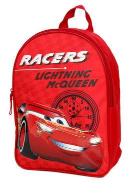 Disney Sac à dos Maternelle Disney Cars Course 31.5 cm Rouge
