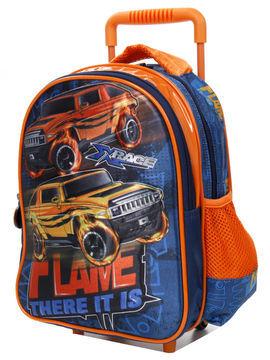 Madisson Sac à dos à roulettes Madisson Kids Flame 37 cm Bleu