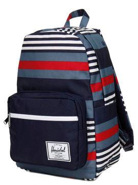 Herschel Sac à dos étanche Herschel Pop Quiz Malibu Stripe Peacoat bleu