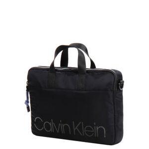 Calvin Klein Sac ordinateur en nylon Calvin Klein Trail Slim 14 pouces Noir - Publicité