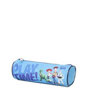 Disney Trousse scolaire ronde Toy Story Bleu - Publicité