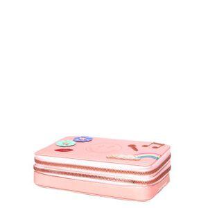 Jeune Premier Trousse Jeune Premier Pencil Box Filled Lady Gadget Pink rose - Publicité