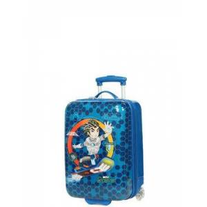 Madisson Valise cabine rigide Madisson Kids Power Boy 48 cm Bleu - Publicité