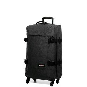 Eastpak Valise souple Eastpak Trans4 M - 70 cm Black Denim noir - Publicité