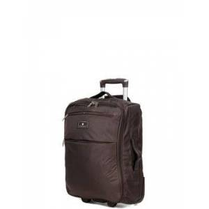 Snowball Valise cabine souple Snowball Dodoma 51 cm - 2 roues Coffee marron Solde