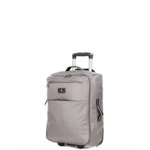 Snowball Valise cabine souple Snowball Dodoma 51 cm - 2 roues Taupe marron