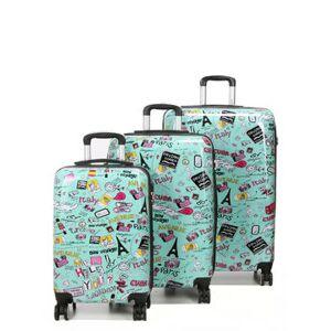 Madisson Ensemble 3 valises rigides Madisson Bon Voyage Vert - Publicité